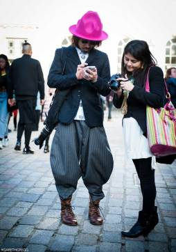 London Fashion Week 2014 - MenStyleFashion Street Photography (21)