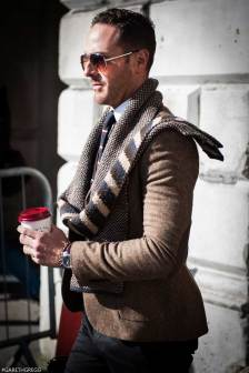 London Fashion Week 2014 - MenStyleFashion Street Photography