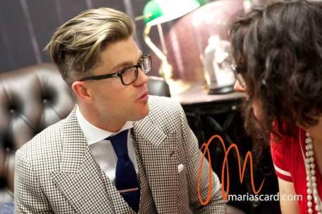 Darren Kennedy - TV Presenter interview Gracie Opulanza 2014 (10)