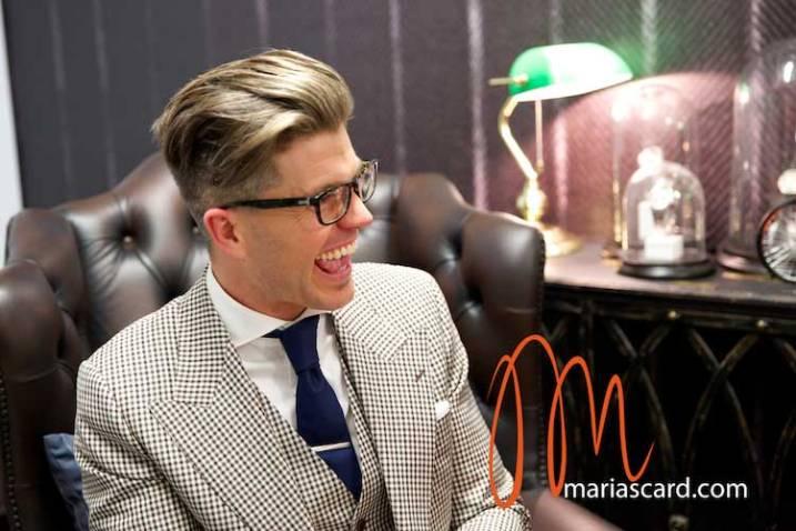 Darren Kennedy - TV Presenter interview Gracie Opulanza 2014 (6)