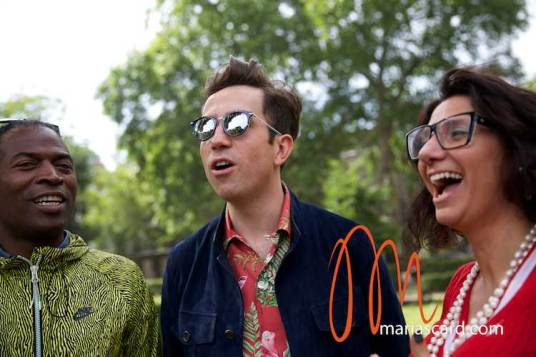 Nick Grimshaw - London Collections Men 2014 Gracie Opulanza (7)