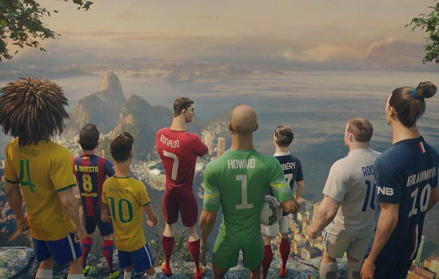Team of Superstars above Rio