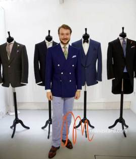Chester Barrie - Savile Row Tailor Maria Scard Wedding Suits (4)