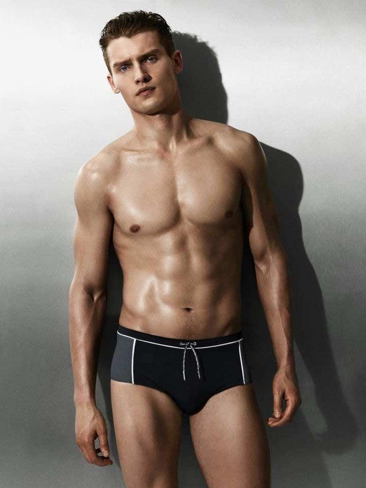 Vladimir ivanov model for Calvin Klein