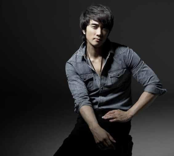 Song Seung Heon Men's sneakertrainers (1)