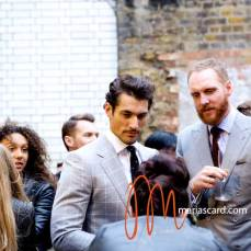 David Gandy at LCM Marks & Spencer Shot by Maria Scard Gracie Opulanza in action