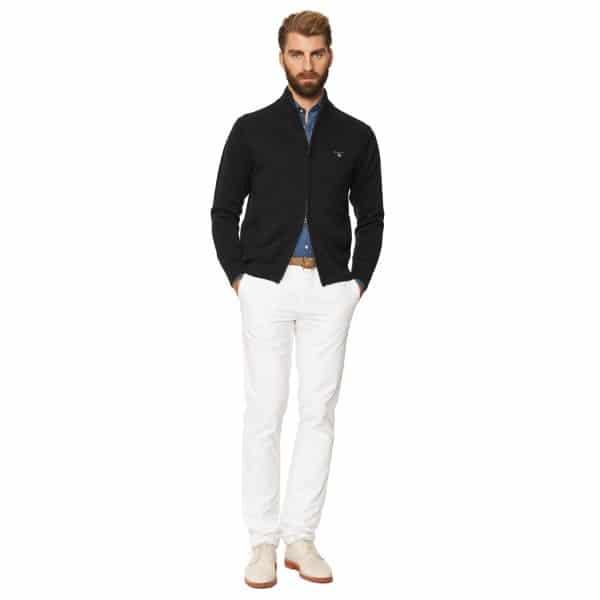 Gant knitwear Cotton Zip Cardigan