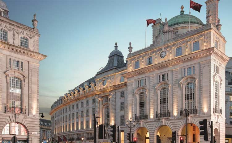 Hotel Cafe Royal – Regent Street London