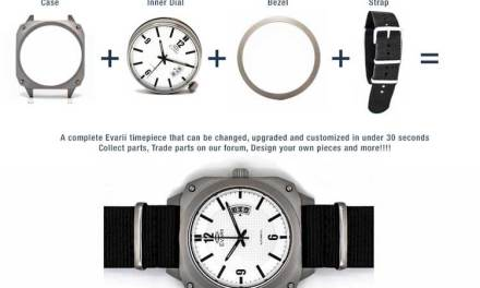 Evarii Modular Watches – Customizable Watch – Kickstarter
