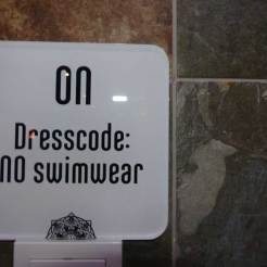 Watch the dresscode