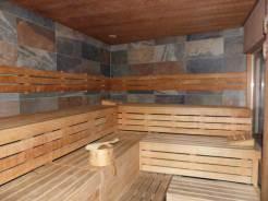 More saunas