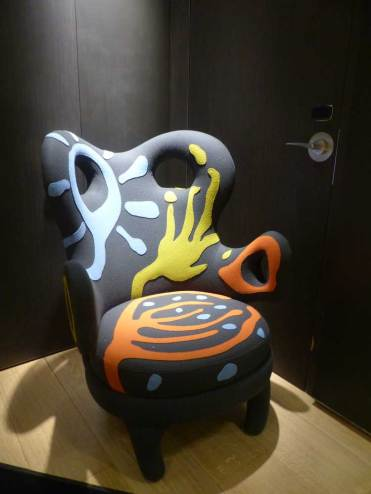 Art meets design in this chair