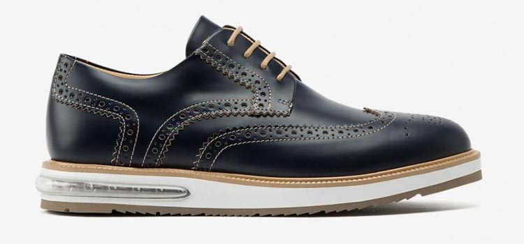 Air Brogue Heritage Blue Leather
