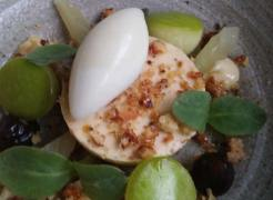 Blue Cheese apple celery and walnut