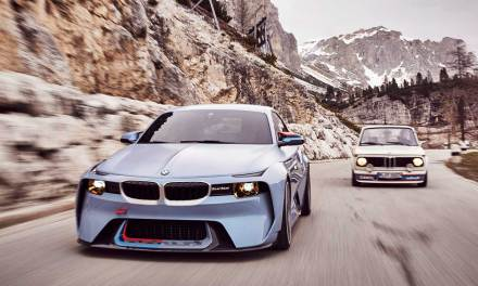 BMW 2002 Hommage – 50 Years Of Pure Driving Pleasure