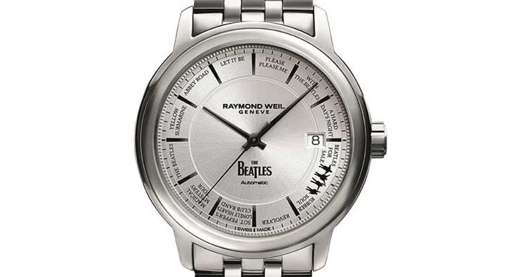 Raymond Weil Releases Limited Edition Beatles Watch