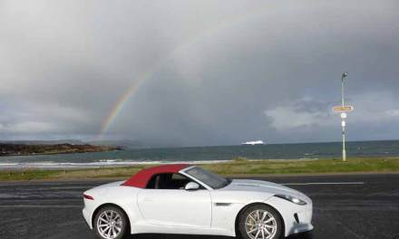 Jaguar F-Type Convertible Driven Around Causeway Coastal Route