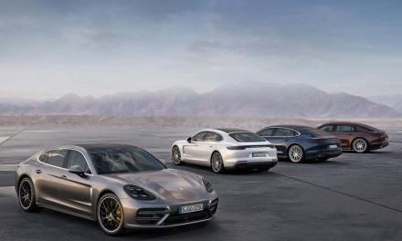 Porsche Presents New Panamera Models