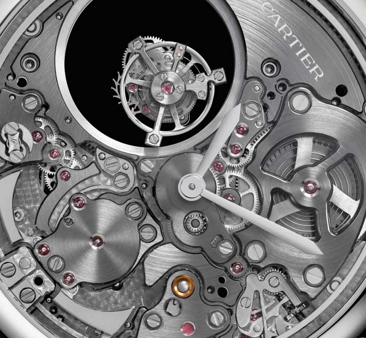 The Cartier Minute Repeater Mysterious Double Tourbillon