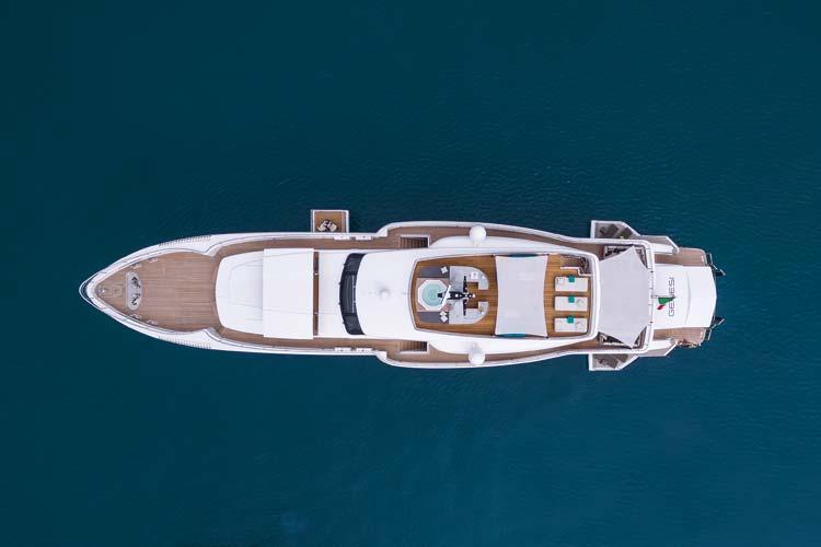 Genesi - Best Exterior Design & Styling – Motor Yacht below 48m &Most Innovative Motor Yacht