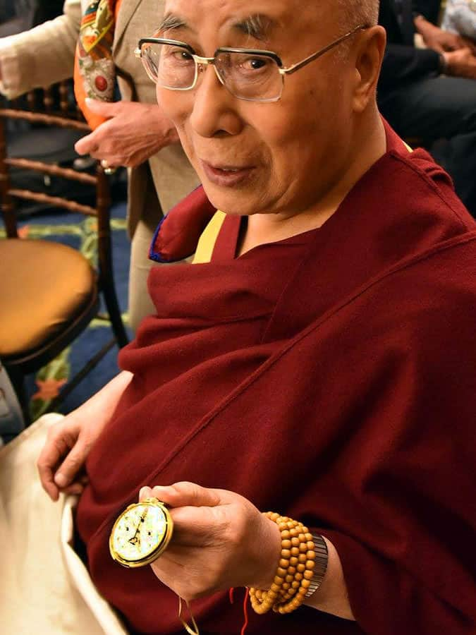 The Dalai Lama - Patek Phillipe 658 Wristwatch