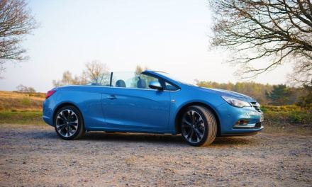 Vauxhall Cascada Convertible – 2.0-litre Diesel 'Elite' Model