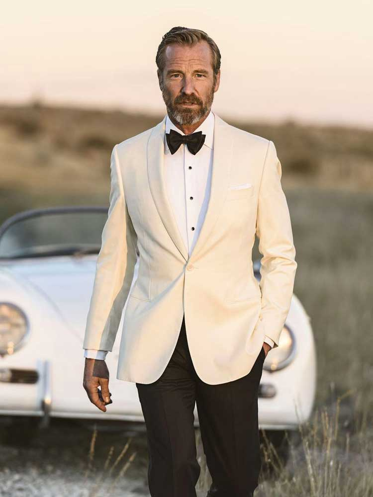 The Emmys - A White Dinner Jacket