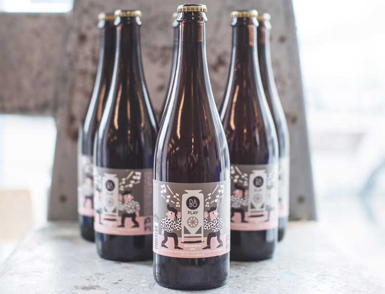 B&O PLAY Announce World's First Beer Infused With Music