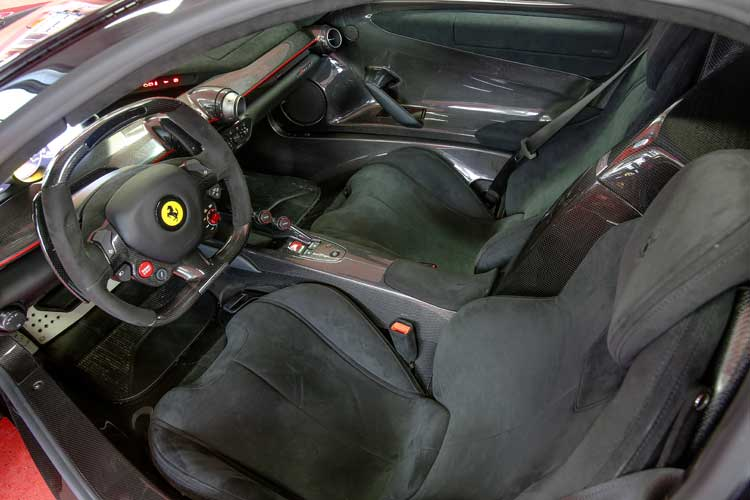 Ferrari LaFerrari 962 Horses Of Funf - Our Driving Review Interior