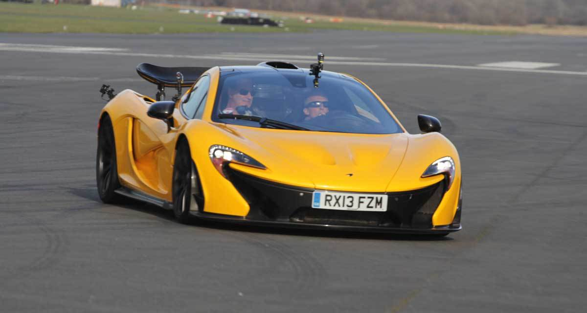 McLaren P1 – England's Million Euro Hybrid Rocket