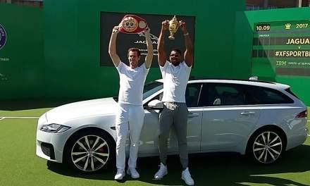 Wimbledon Star Andy Murray Reveals Jaguar XF Sportbrake