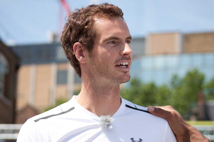 Wimbledon Star Andy Murray Reveals Jaguar XF Sportbrake