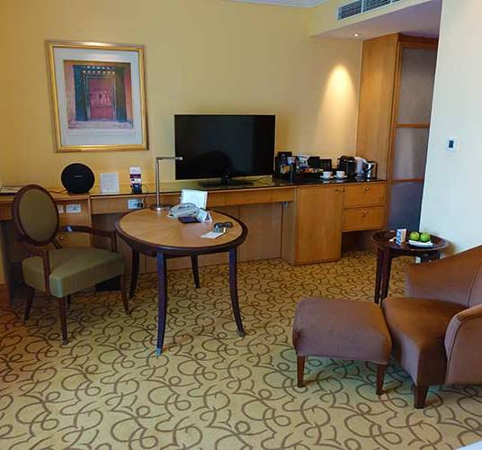 Fullerton Singapore Hotel Review Straits Club room (3)