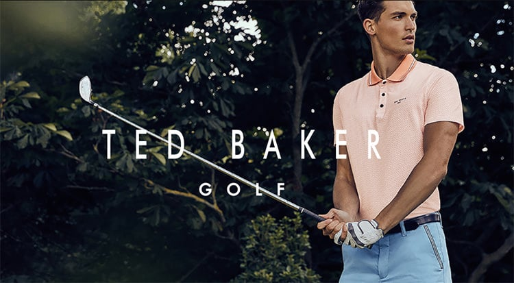 Ted Baker Golf Clothing – Has landed At Function 18