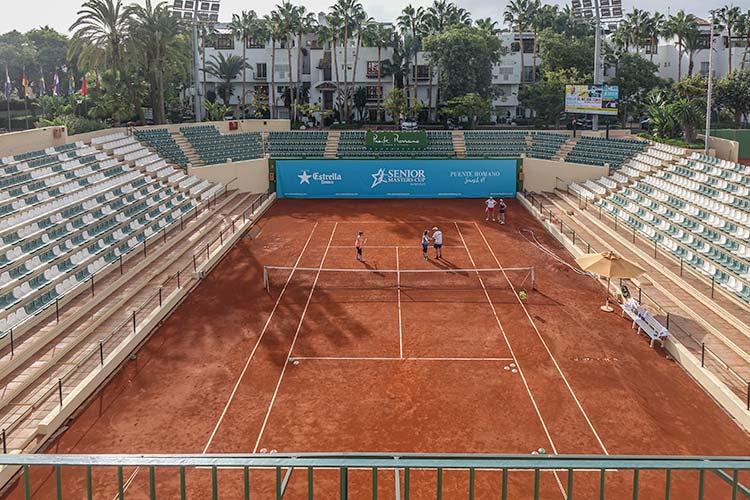 Puente Romano Marbella - Luxury Review Spain  - tennis courts