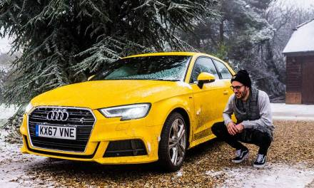 Audi A3 – Winter Fun In The UK