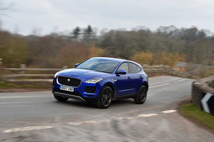 Jaguar E-Pace - SUV Review In Rural Britain