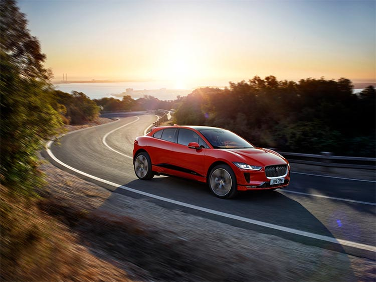 JAGUAR LAUNCHED THE ALL-NEW ELECTRIC I-PACE
