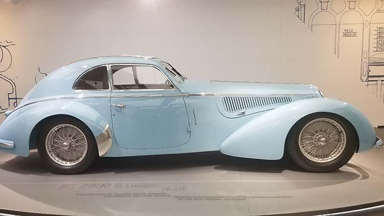 Alfa Romeo – Museum Classic Car Tour