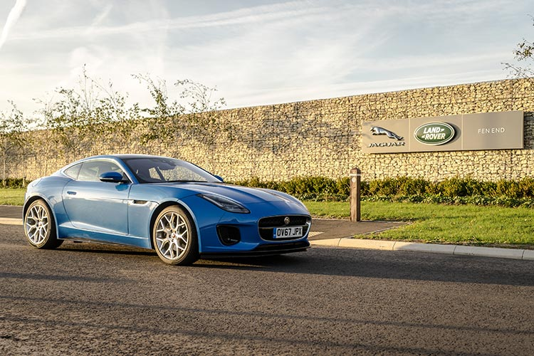 FType Coupe Jaguar Blue Landrover Coventry United Kingdom