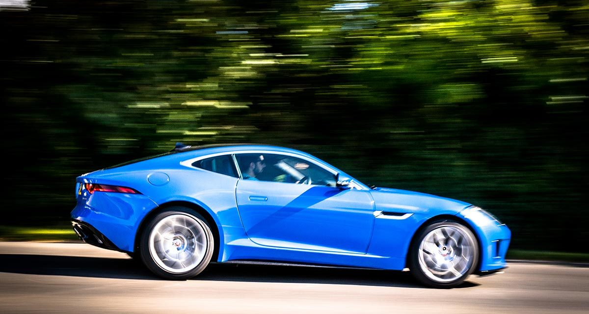 Jaguar F-Type Coupe – Looking Stylish In Blue Review