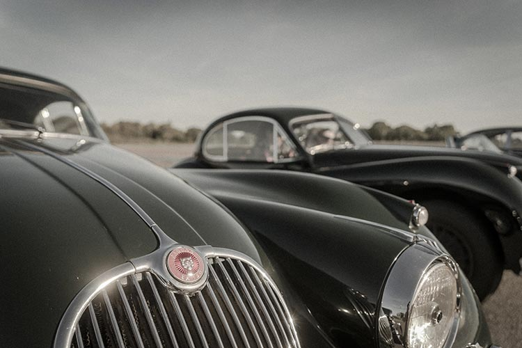 Gracie Opulanza Jaguar Classic Track day Coventry Black