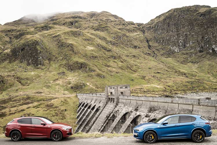 Stelvio Quadrifoglio Alfa Romeo SUV MenSyleFashion Scotland