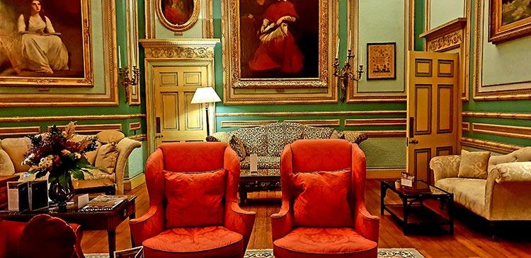 Public rooms at Swinton Estate Park hotel Yorkshire Dale