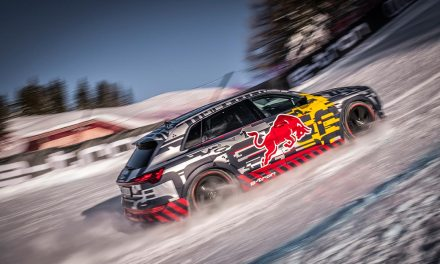 Audi First Fully-Electric – Snow Climb Steepest Section of Kitzbühel's