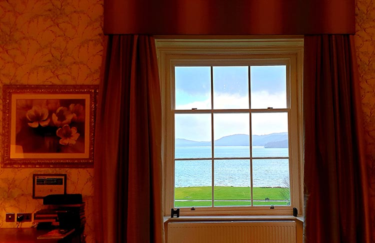 Lake District Storrs Hall Ensuite View