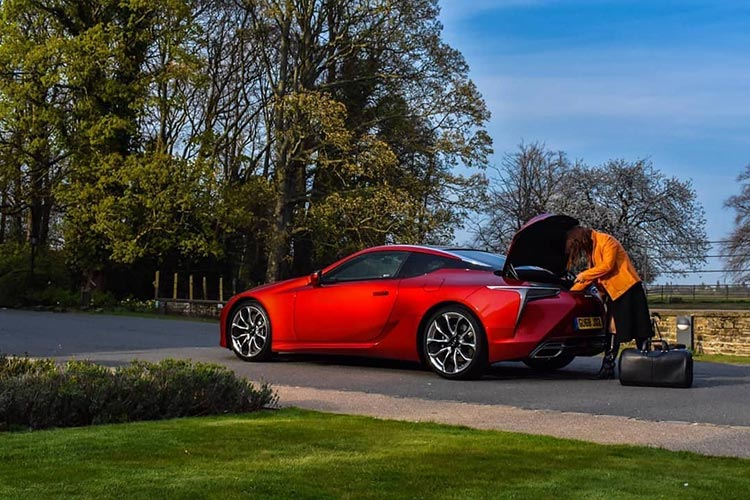 Lexus LC500 Coupe - Coco Chanel On Wheels