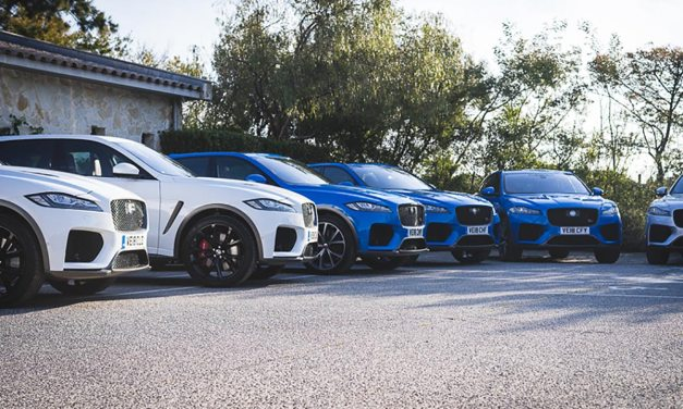 The Big Cats in St Tropez – Jaguar XE & F-Pace SVR Launch