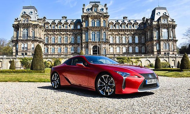 Lexus LC500 Coupe – Coco Chanel On Wheels