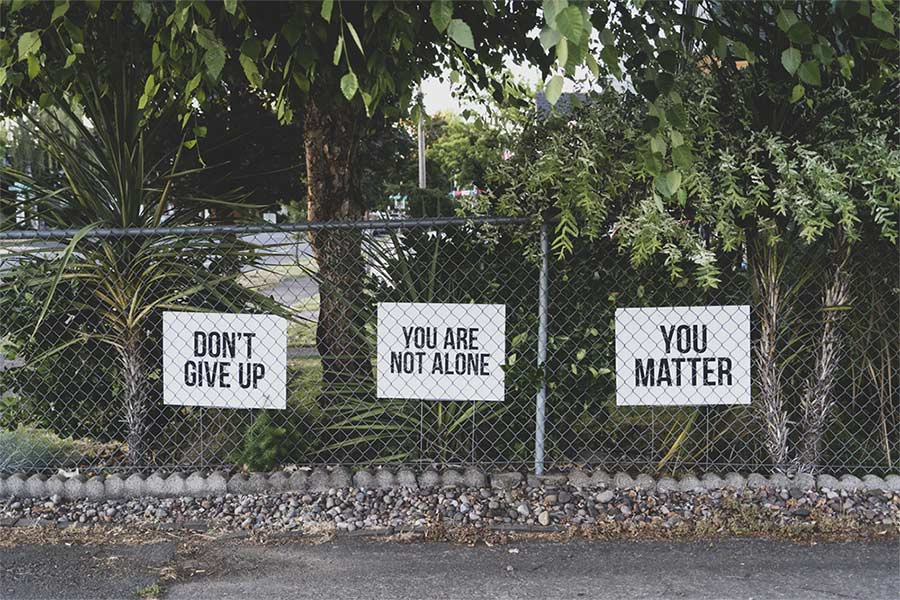 empathy don't give up you are not alone you matter